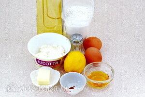 Жареные равиоли с рикоттой и мёдом: Ингредиенты