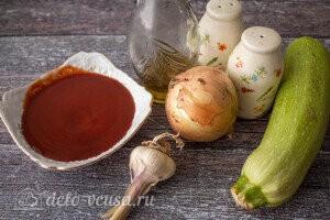 Томатный суп с кабачками: Ингредиенты