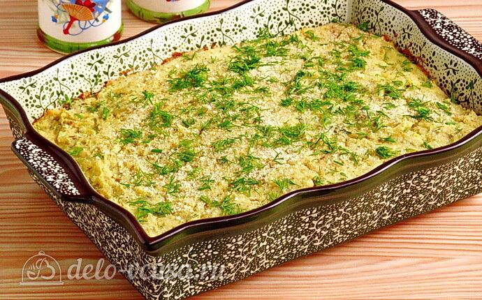 Запеканка из картофельного пюре с грибами: фото блюда приготовленного по данному рецепту