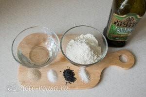 Гриссини хлебные палочки: Ингредиенты