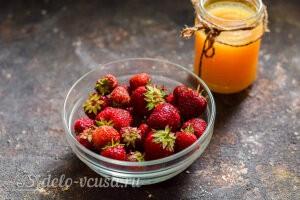 Холодный клубничный суп с апельсиновым соком: Ингредиенты