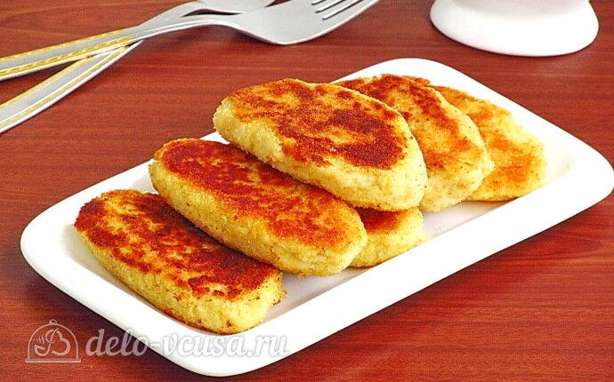 Картофельно-куриные котлеты из отварного мяса