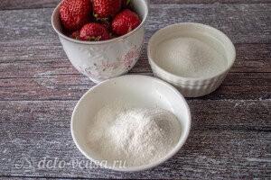 Быстрое клубничное варенье с желфиксом на зиму: Ингредиенты