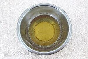Распустить желатин на водяной бане