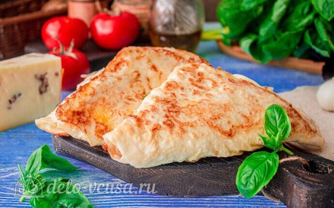 Конвертики из лаваша с ветчиной и сыром: фото блюда приготовленного по данному рецепту