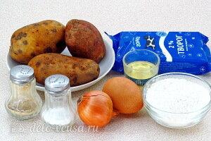 Ленивые вареники с картошкой и творогом: Ингредиенты