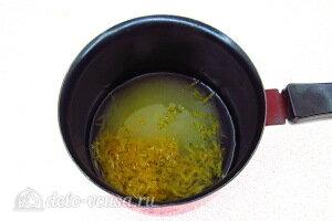 Варим лимонный сироп на огне