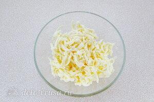 Плавленый сыр трем на терке