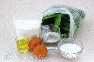 Сладкие вареники со щавелем: Ингредиенты