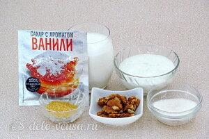 Творожный крем со сливками на желатине: Ингредиенты