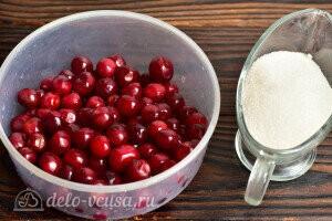 Варенье из вишни «Пятиминутка» с косточками на зиму: Ингредиенты