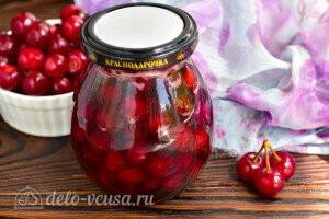 Варенье из вишни «Пятиминутка» с косточками на зиму готово