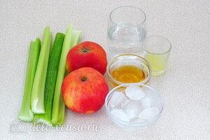Витаминный смузи из яблока, сельдерея и лайма: Ингредиенты