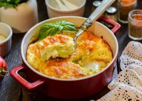 Рецепт заливные кабачки с творогом в духовке