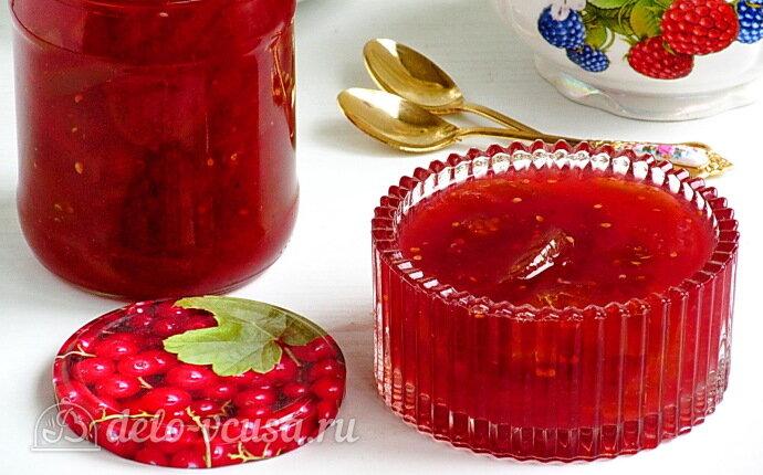 Варенье из зелёных помидоров в соке красной смородины