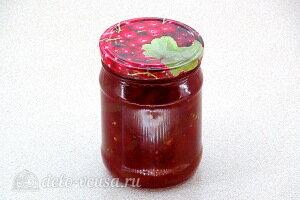 Варенье из зелёных помидоров в соке красной смородины готово