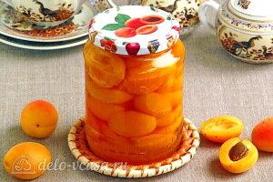 Абрикосы в собственном соку с сахаром на зиму