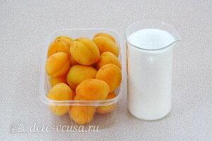Абрикосы в собственном соку с сахаром на зиму: Ингредиенты