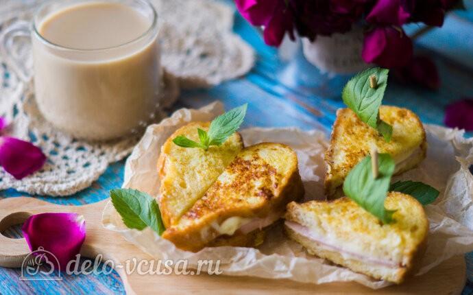 Американский сэндвич «Монте-Кристо»