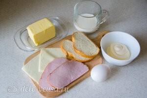 Американский сэндвич «Монте-Кристо»: Ингредиенты