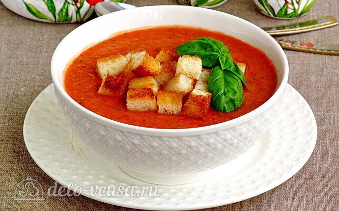 Рецепт томатный гаспачо по-андалузски