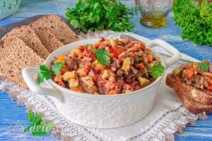 Гивеч (гювеч) – овощное рагу по-молдавски готов
