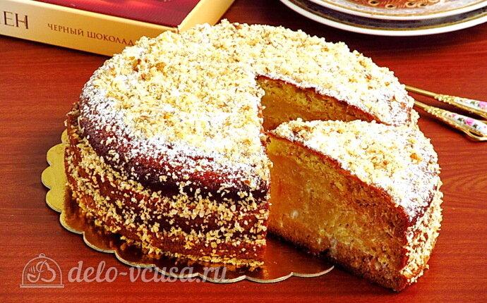 Рецепт торт «александрия» со сметанным кремом