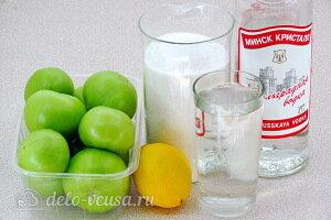Варенье из зелёных помидоров по-польски на зиму: Ингредиенты