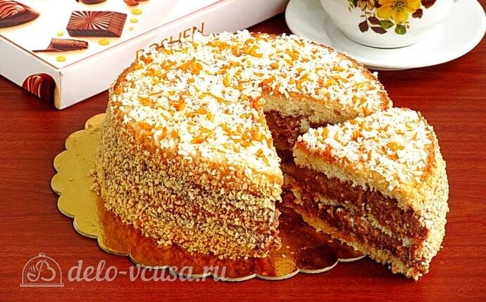 Бисквитный торт со сгущенкой «Тайный комплимент»