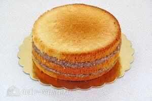 Бисквитный торт со сгущенкой «Тайный комплимент»: Собираем торт