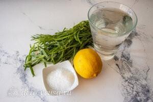 Лимонад тархун: ингредиенты