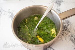 Лимонад тархун: добавляем кипяток и оставляем настояться