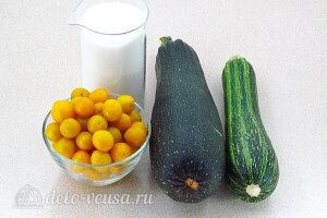 Супер джем из жёлтой алычи и кабачков на зиму: Ингредиенты