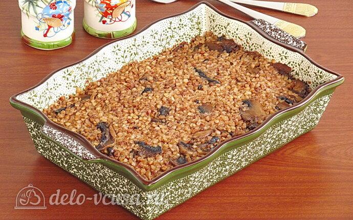 Рецепт гречневая запеканка с грибами по-белорусски