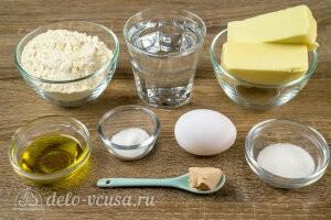 Хачапури по-аджарски из теста от Питера Рейнхарта: Ингредиенты