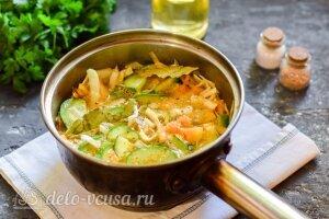 Капуста по-корейски с огурцами на зиму: Варим салат 5 минут