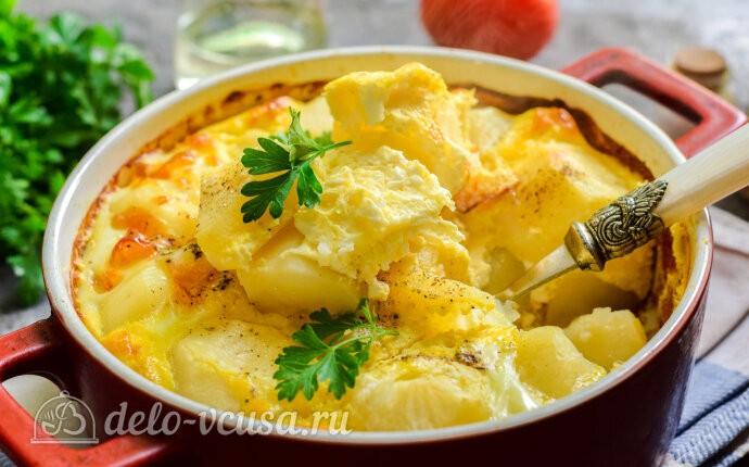 Картофель по-княжески в духовке