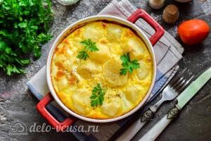 Картофель по-княжески в духовке готов
