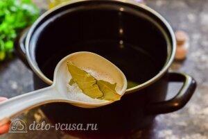 Маринованный перец с чесноком на зиму: Варим маринад
