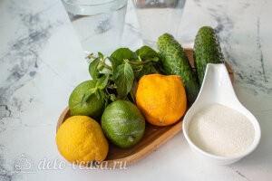 Огуречный лимонад с мятой: Ингредиенты