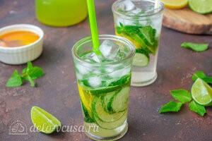 Огуречный лимонад с мятой готов