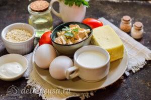 Овсяноблин с курицей и сыром: Ингредиенты