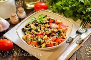 Салат «Лаззат» с баклажанами