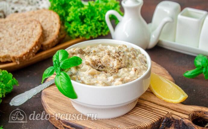 Рецепт соус из запеченных баклажанов