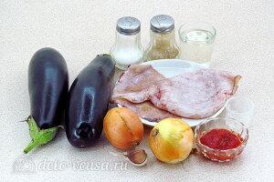 Баклажанная икра с кальмарами: Ингредиенты