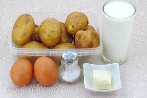 Картофельная драчёна по-белорусски: Ингредиенты
