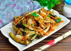 Рецепт хе из баклажанов по-корейски