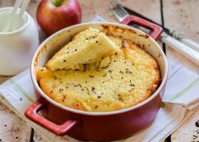 Рецепт пшенная запеканка с яблоками