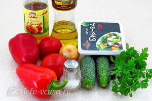 Шопский салат: Ингредиенты