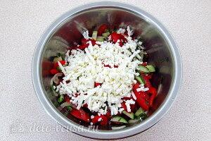 Заправляем шопский салат заправкой